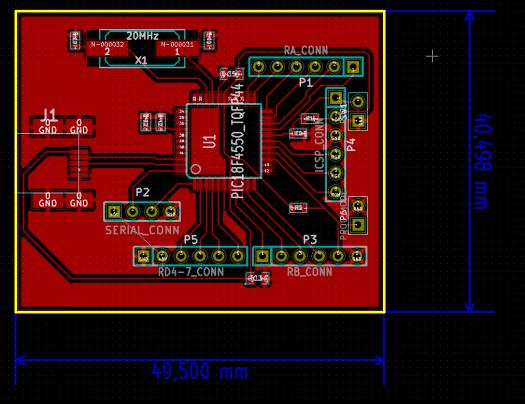PIC18F4550 Board