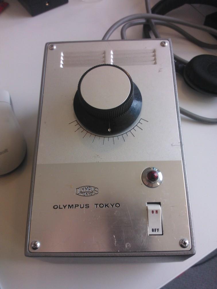 Olympus Tokyo 110V auto transformer